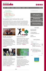 Neue Homepage ab 2016