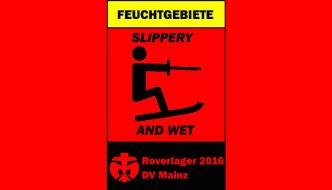 """Feuchtgebiete – slippery and wet"" – das ultimative DiözesanROVERlager 2016"