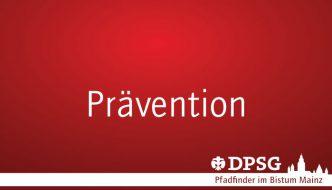 Präventionsschulung für Kurzentschlossene am 20.11. – Richtig wichtig!