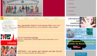 Relaunch von dpsg-mainz.de