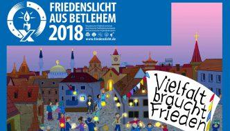 Friedenslicht im Mainzer Dom